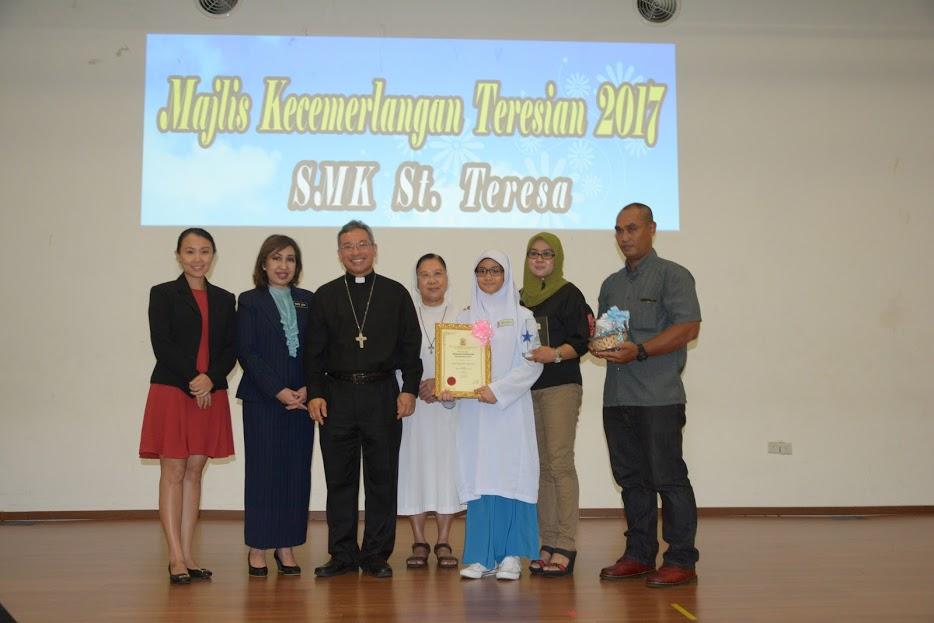 Majlis Kecemerlangan Teresian 2017 | SMK ST Teresa