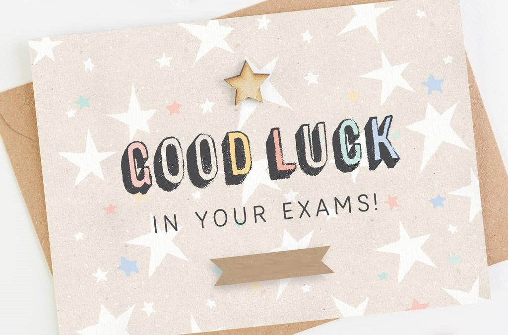 Good Luck for Exam!