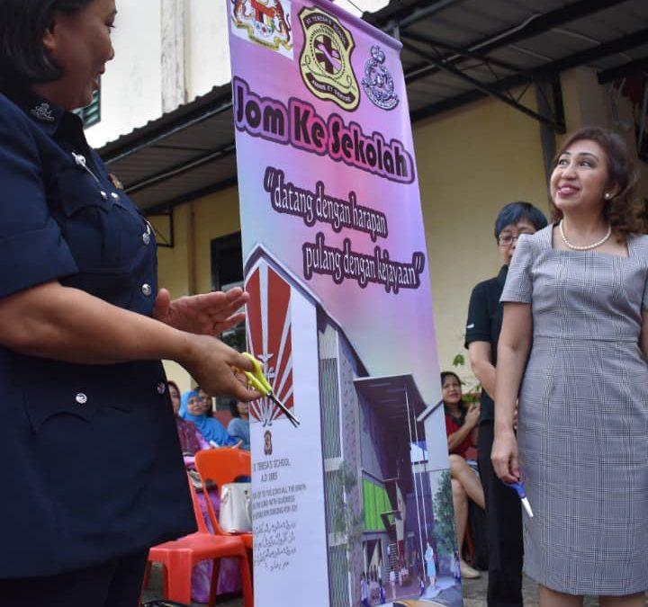 """A Special Assembly for the Launching of """" Program Jom ke Sekolah"""""""