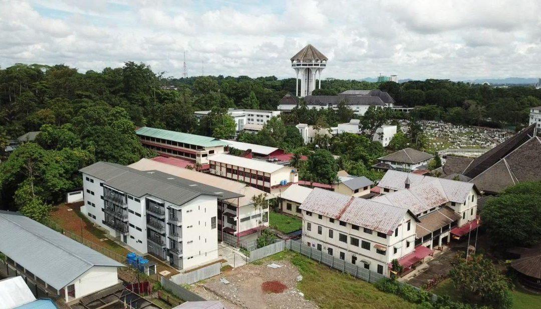 Rebuilding SMK St. Teresa, Kuching